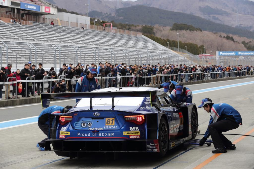 スーパーGTで支持率No.1! Super GT 300クラスのシリーズ優勝を狙うSTI BRZの2019年マシンを披露