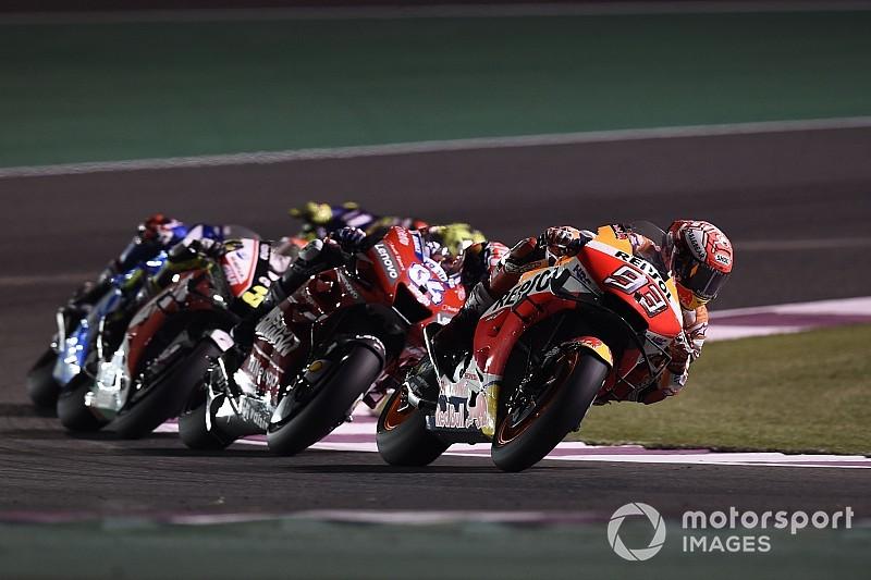 """【MotoGP】2位はドヴィツィオーゾが""""遅く""""走ってくれたおかげ? マルケス、ハードタイヤを履けず苦戦も満足感アリ"""