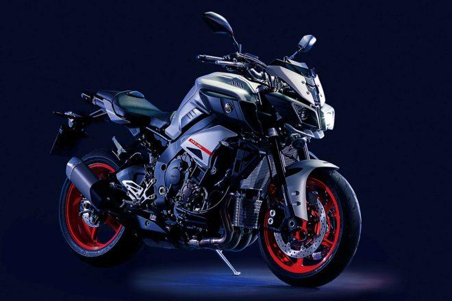 ヤマハ、スポーツバイクの『MT-10 ABS』、『MT-09 ABS』に新色を追加し4月1日発売
