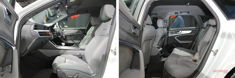 実車 新型アウディA6セダン/アバント55 TFSIクワトロSライン 今後ディーゼルも導入