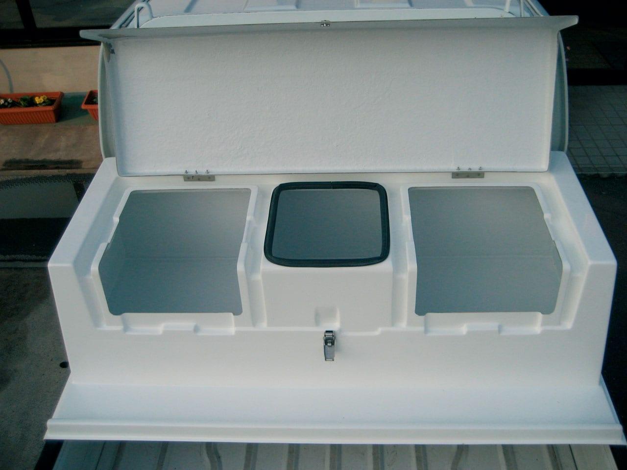 釣り道具や工具を収納できる多機能ボックスもほか|軽トラ実用パーツまとめ2|ラクホロ、NLAセレクト、オーガニックボート