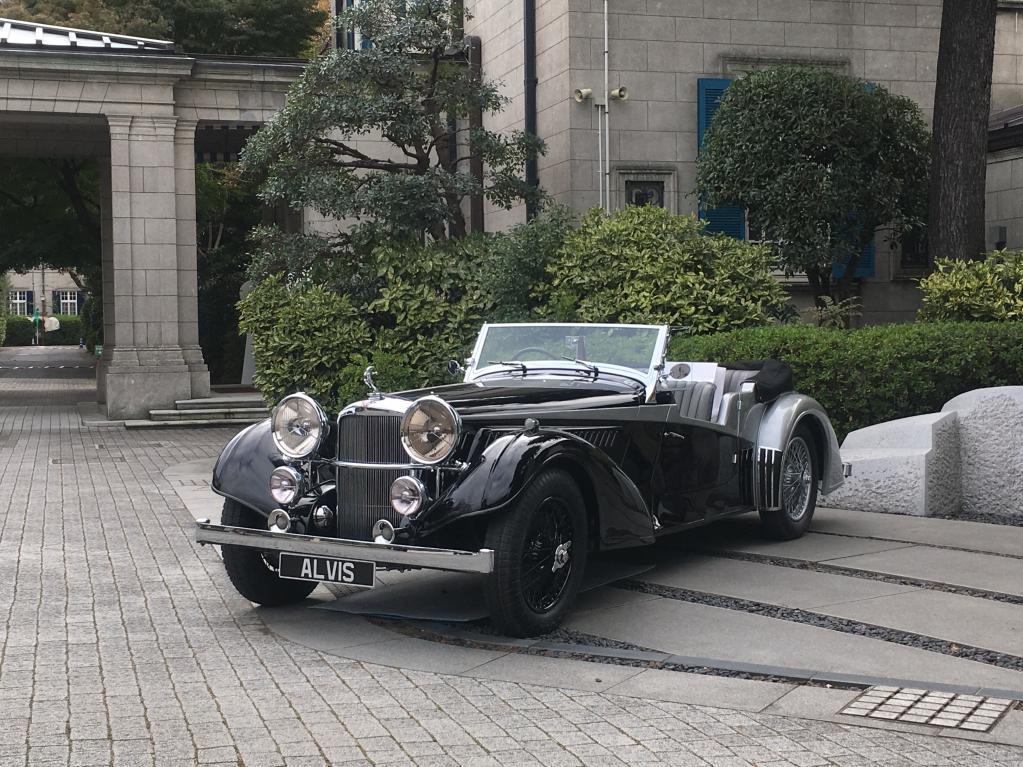 イギリスの自動車ブランド、アルヴィスが復活