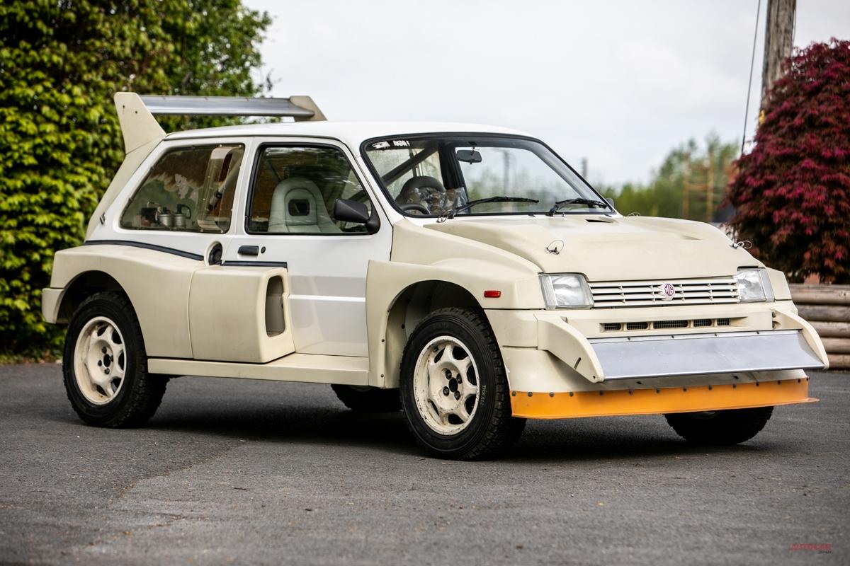 ほぼ新車 グループBラリーカー、オークションに MGメトロ6R4の予想落札価格は?