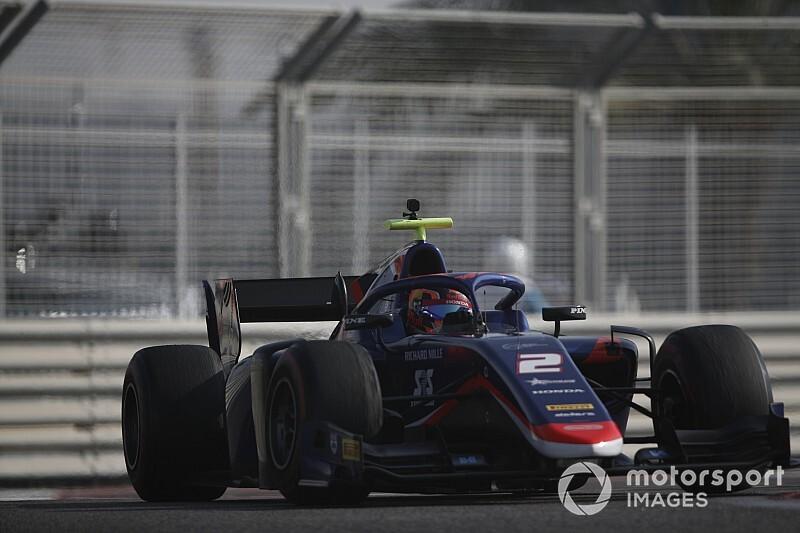 FIA F2ポストシーズンテスト2日目:初日に続いてデレトラがトップ。角田裕毅は14番手