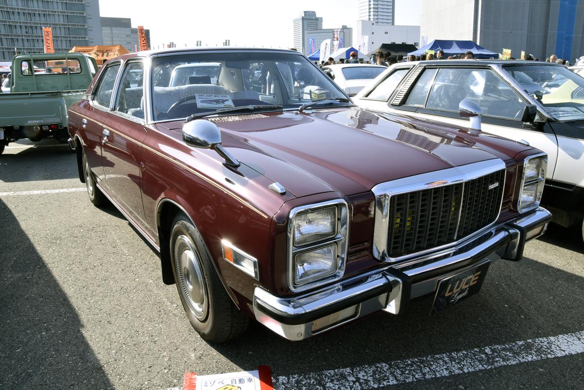 グロリア、ファミリア、プレジデント! 旧車イベントで見つけた古き良き国産セダンたち【画像集】