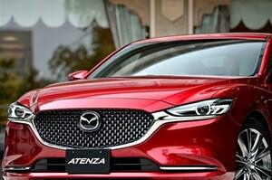 アテンザ大幅改良車発表 マツダの最新技術「全部のせ」