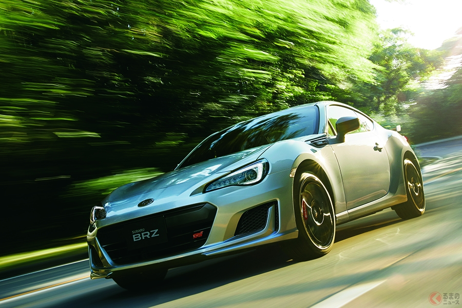 スバル 新型FRスポーツ「BRZ」を発売 ハンドリングとエアロダイナミクスを改良