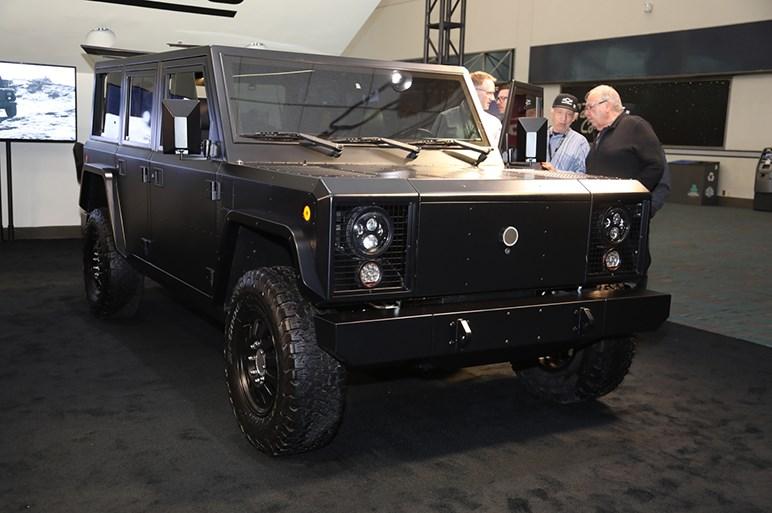 米ボーリンガー、EVオフロードモデルのB1とB2をLAで披露。価格は約1360万円から