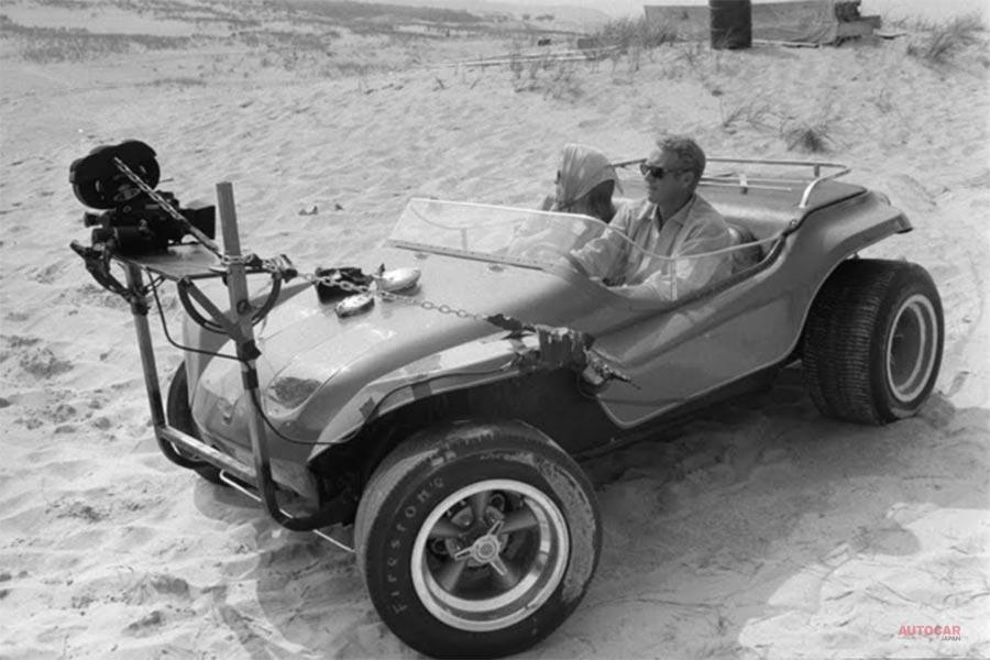 スティーブ・マックイーン主演 映画「華麗なる賭け」のビーチバギー、オークションに