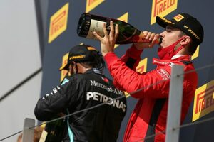 ルクレール、今季2回目の表彰台「運がよかっただけじゃない」フェラーリ【F1第4戦決勝】