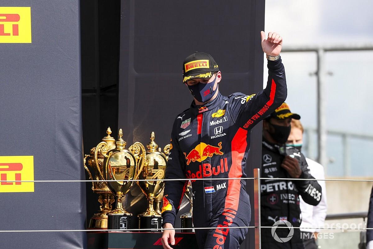 F1イギリスGPの劇的最終ラップ……レッドブル・ホンダのマックス・フェルスタッペン「幸運だし、不運だったね」