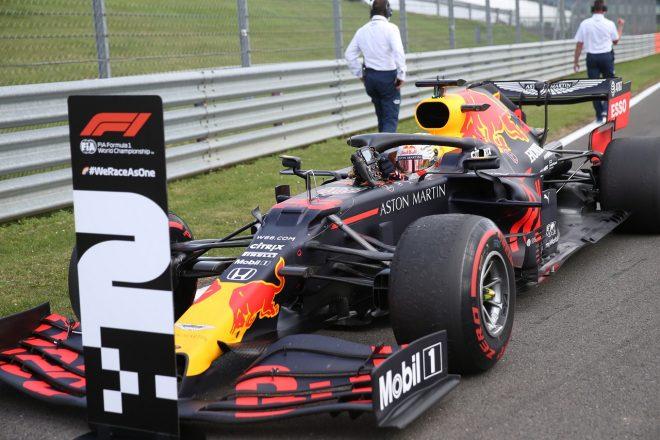 ホンダが3戦連続表彰台&3台入賞「高速サーキットでのこの成績はポジティブ」と田辺TD【F1第4戦決勝】