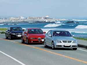 【ヒットの法則313】BMW3シリーズ、アウディA4、アルファ159は新型Cクラスの登場で個性が明確となった