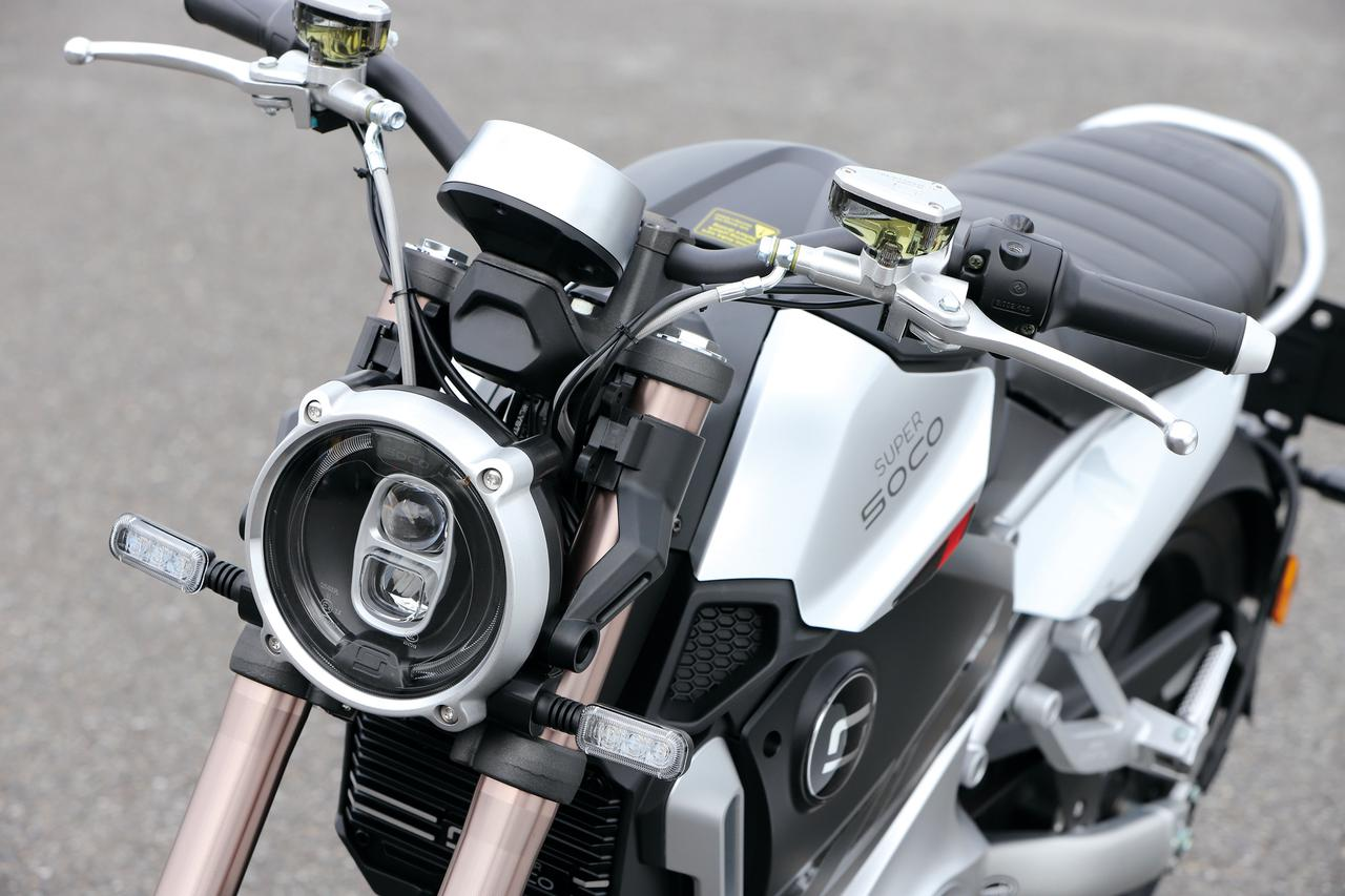 AT普通二輪免許で乗れる電動スポーツバイク SUPER SOCO「TC Max」【試乗インプレ・車両解説】(2020年)