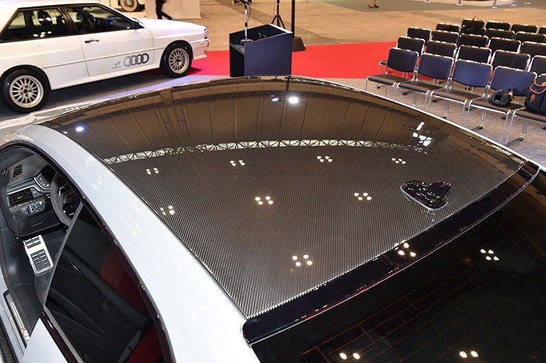 新型アウディ RS5クーペが日本初公開。最大トルクは+170Nmの600Nmへ