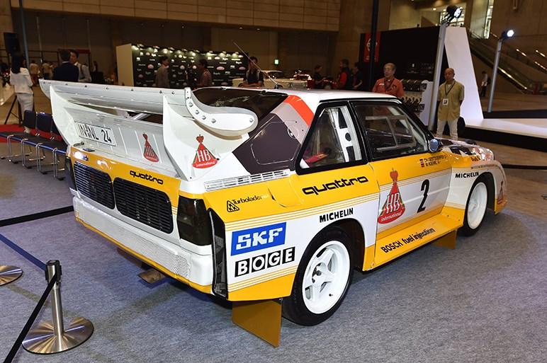 ラリーシーンを席巻したスポーツクワトロS1など、アウディ先進の歴史