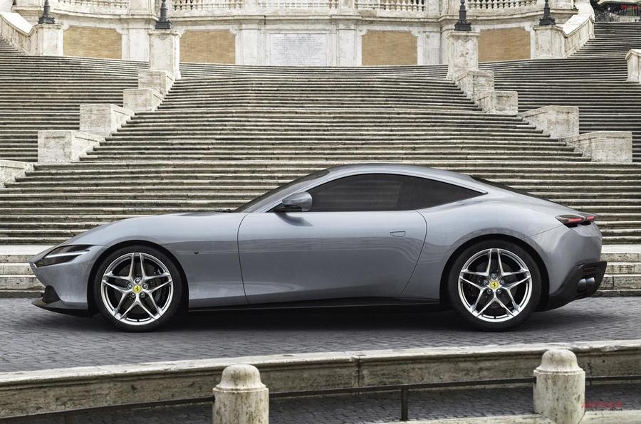 フェラーリ新型ローマ ポルトフィーノの固定ルーフ版 620ps 内装/スペック