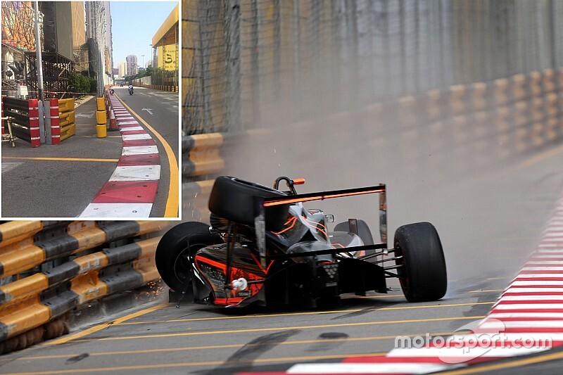 マカオGPが行われるギア・サーキット、昨年の大事故受けてリスボアコーナーなどを改修。DRS区間も設定