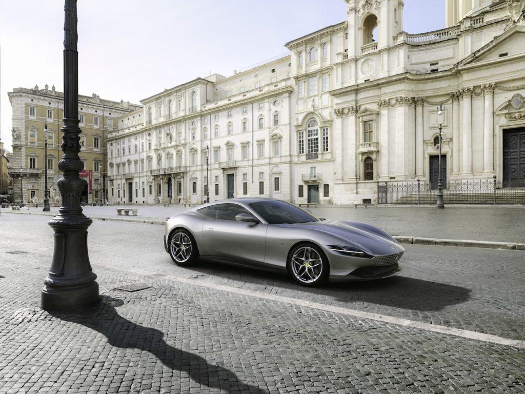 フェラーリ ローマ 発表! 620psを誇るV8ツインターボ搭載のエレンガントな新型FRスポーツ