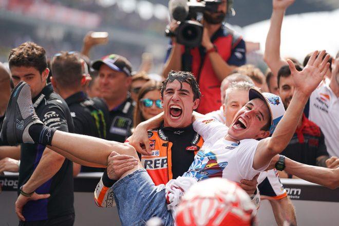 マルケス、最終戦の目標は「チームタイトルの獲得」/MotoGP第19戦バレンシアGP事前コメント