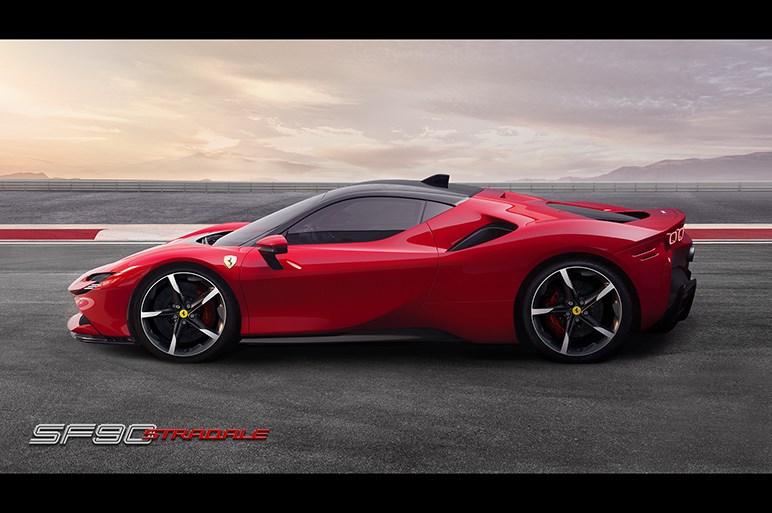 フェラーリ、プラグインハイブリッドスポーツ「SF90ストラダーレ」を発表 最高出力1000psを実現