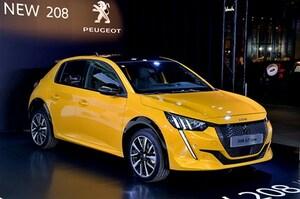 新型プジョー208と純EVのe-208を先行披露。日本導入は2020年夏以降に