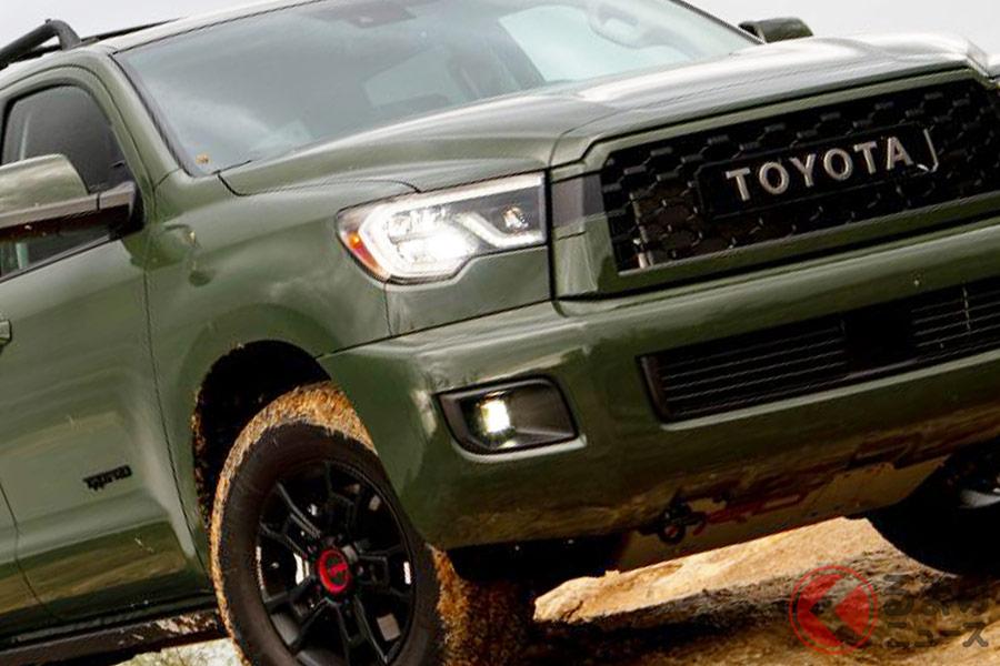 ランクル超えのデカさ!? トヨタ最大SUV「セコイア」 北米に似合うモデル