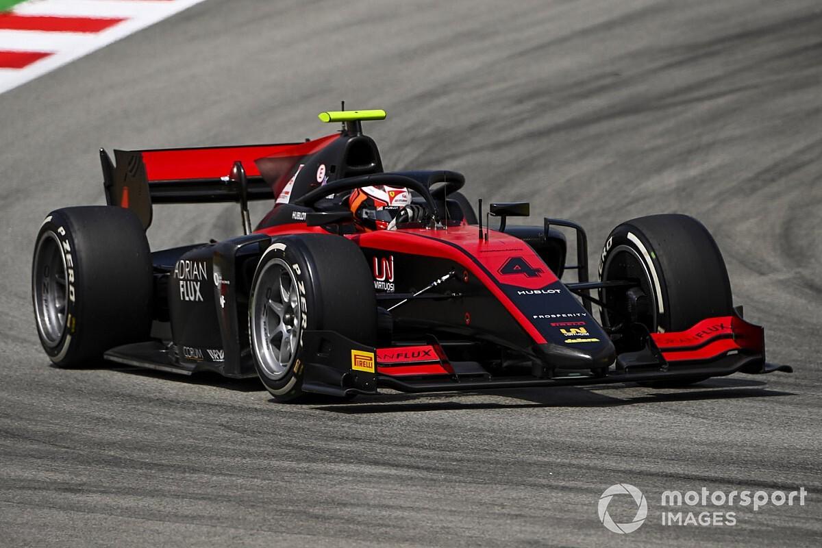 FIA F2バルセロナ予選:アイロットが今季3度目のポールポジション。角田裕毅は6番手