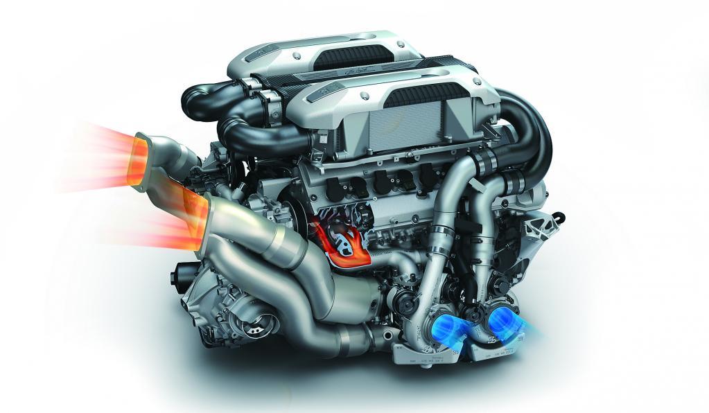 世界一トリッキーなブガッティの16気筒エンジン──EA398 8.0 W16