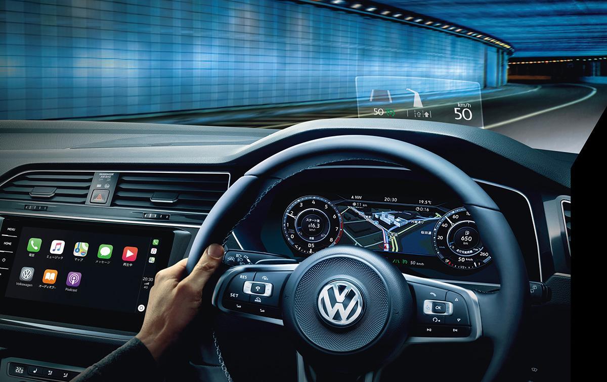 VWティグアンがオプションパッケージの見直しや人気装備の標準化など一部改良を実施