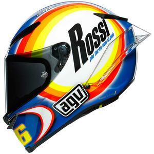 国内販売はわずか50個! バレンティーノ・ロッシのジョークが冴えわたる激レア・レプリカヘルメット AGV「PISTA GP RR」〈WINTER TEST 2005〉