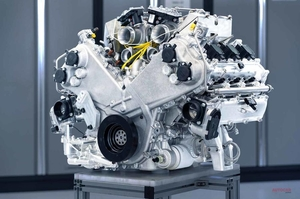 【725ps超えか】アストン マーティン 新しいV6ハイブリッドエンジンを自社開発
