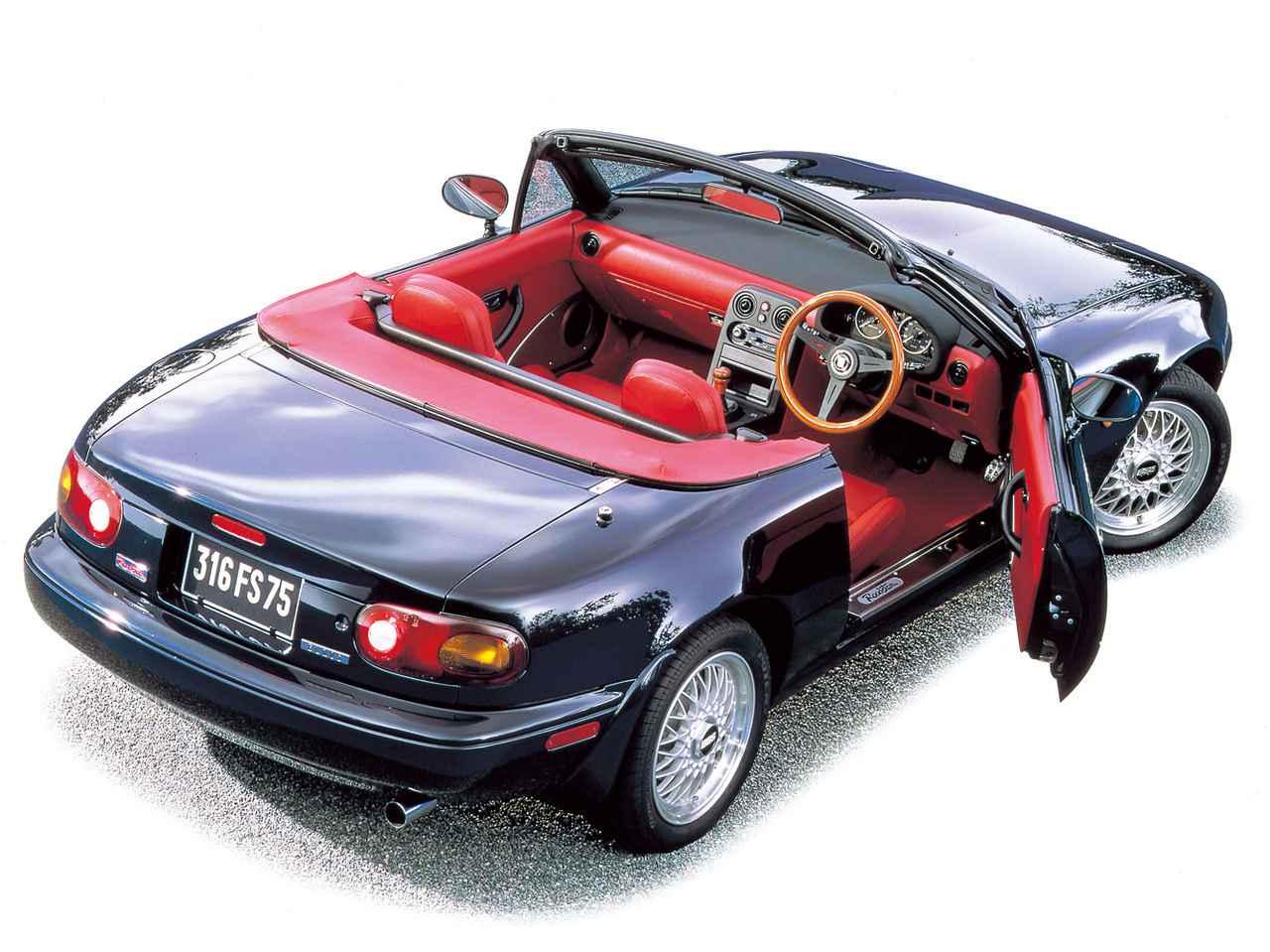 【特別なロードスターNA編08】まっ赤なインテリアが大好評だった限定車が「Rリミテッド」として再登場