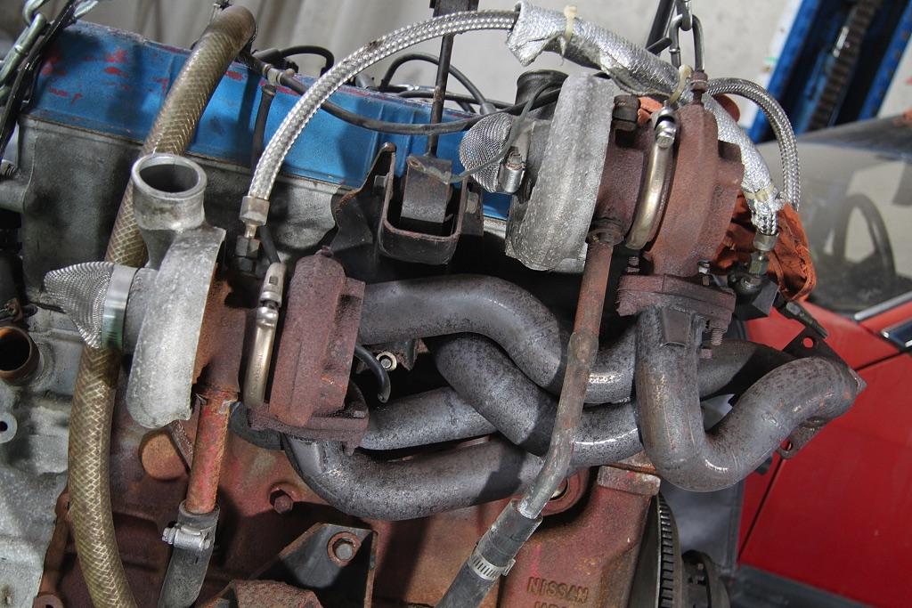 「ストリートゼロヨン最速DR30再生計画」早くもエンジンのバラシ作業を開始!【連載3回目】