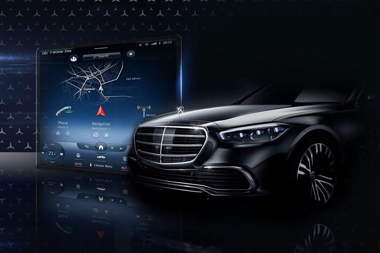 次期メルセデス・SクラスはガラスのAR表示機能やレベル3自動運転にも対応する超デジタル高級車になる