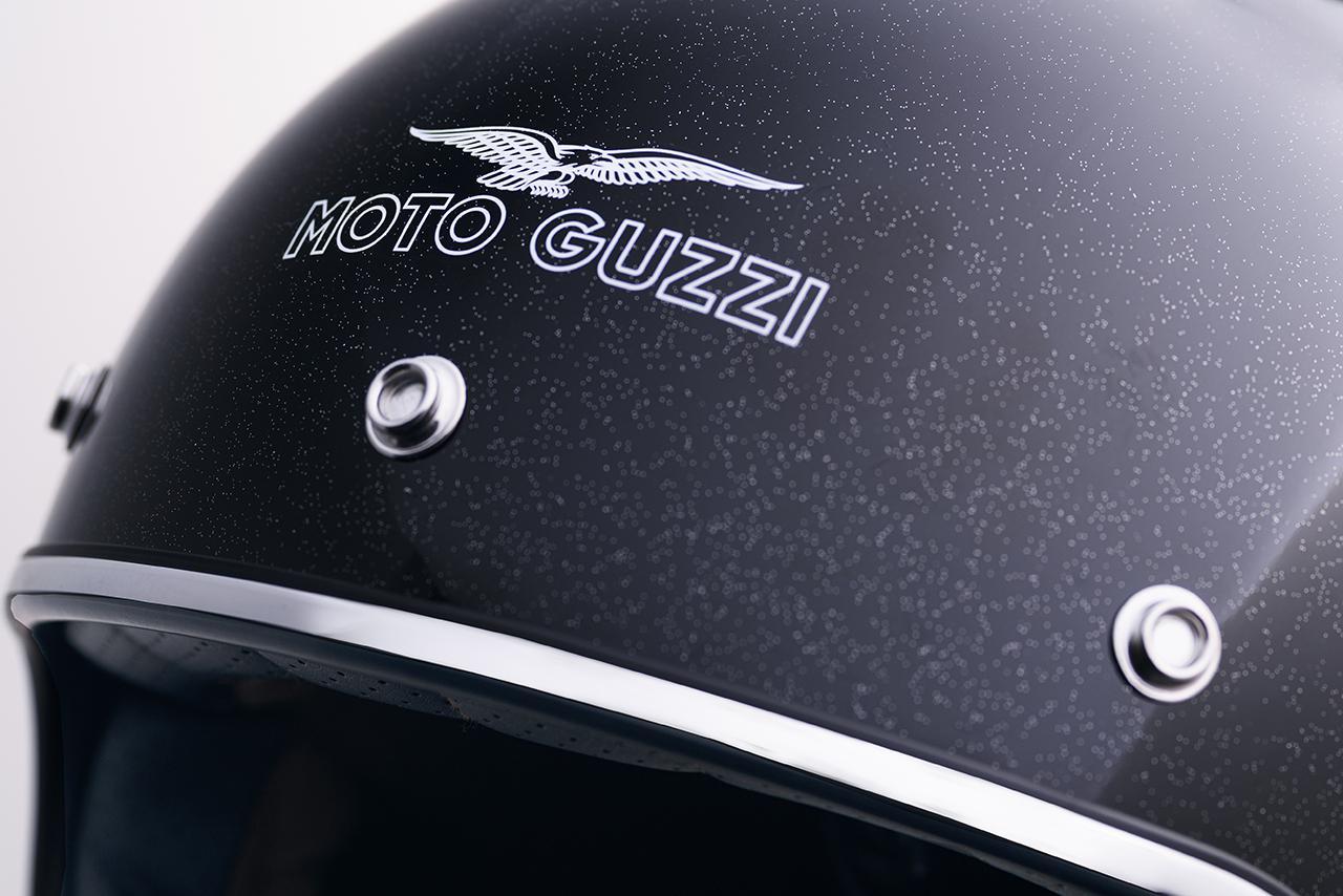 「MOTO GUZZI」の純正ジェットヘルメットが全国のモト・グッツィ正規販売店で販売開始