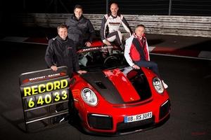 オンボード動画 ポルシェ911 GT2 RS MR ニュル量販車最速ラップ