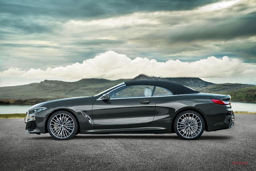 新型BMW 8シリーズ・コンバーチブル公開 今月LAショーで発表へ