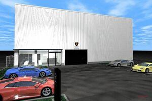 ランボルギーニ名古屋サービスセンター 名古屋市中川区に移転 新規開店