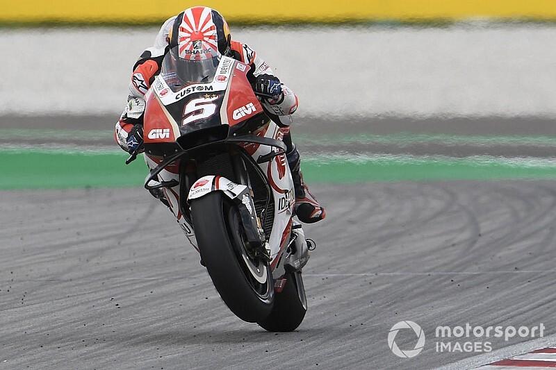 【MotoGP】「9番手はいいポジション」代役2戦目のザルコ、決勝で追い上げ狙う