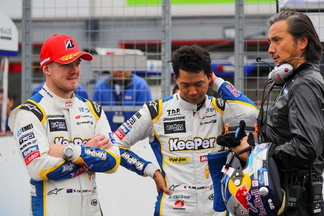 KeePer平川「優勝したがチャンピオンは獲れず……言葉にできない」/スーパーGT第8戦もてぎ GT500優勝会見
