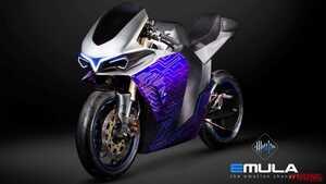 【映像】2スト250ccにも4スト600ccにも化ける?! 電動バイク「EMULA」はエンジンを操る感覚を完全再現
