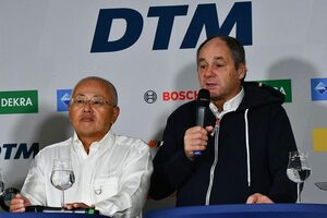 スーパーGT坂東代表がインタビューで語るコロナ禍8戦開催の決意。衰退傾向のDTMとの将来ビジョン