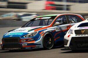 『TCRヨーロッパSIM Racing』開幕戦はヒュンダイのナジーがパーフェクト達成