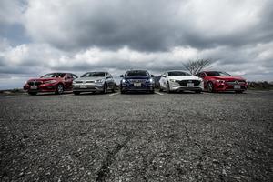 BMW 1シリーズとライバルを一斉比較! 独仏日のFFコンパクト5台をテストする【渡辺慎太郎編】