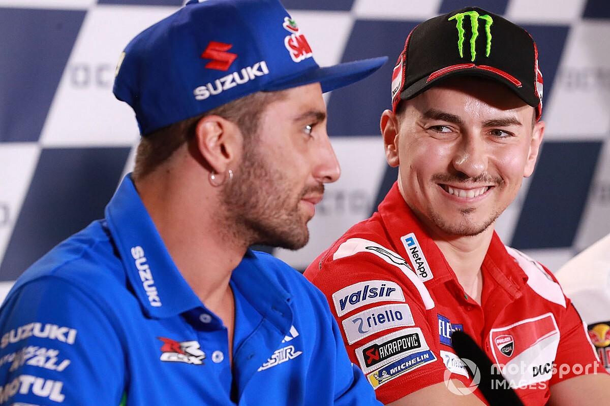 """【MotoGP】「レース復帰を願っている」ロレンソ、アンドレア・イアンノーネの""""潔白""""を信じる"""