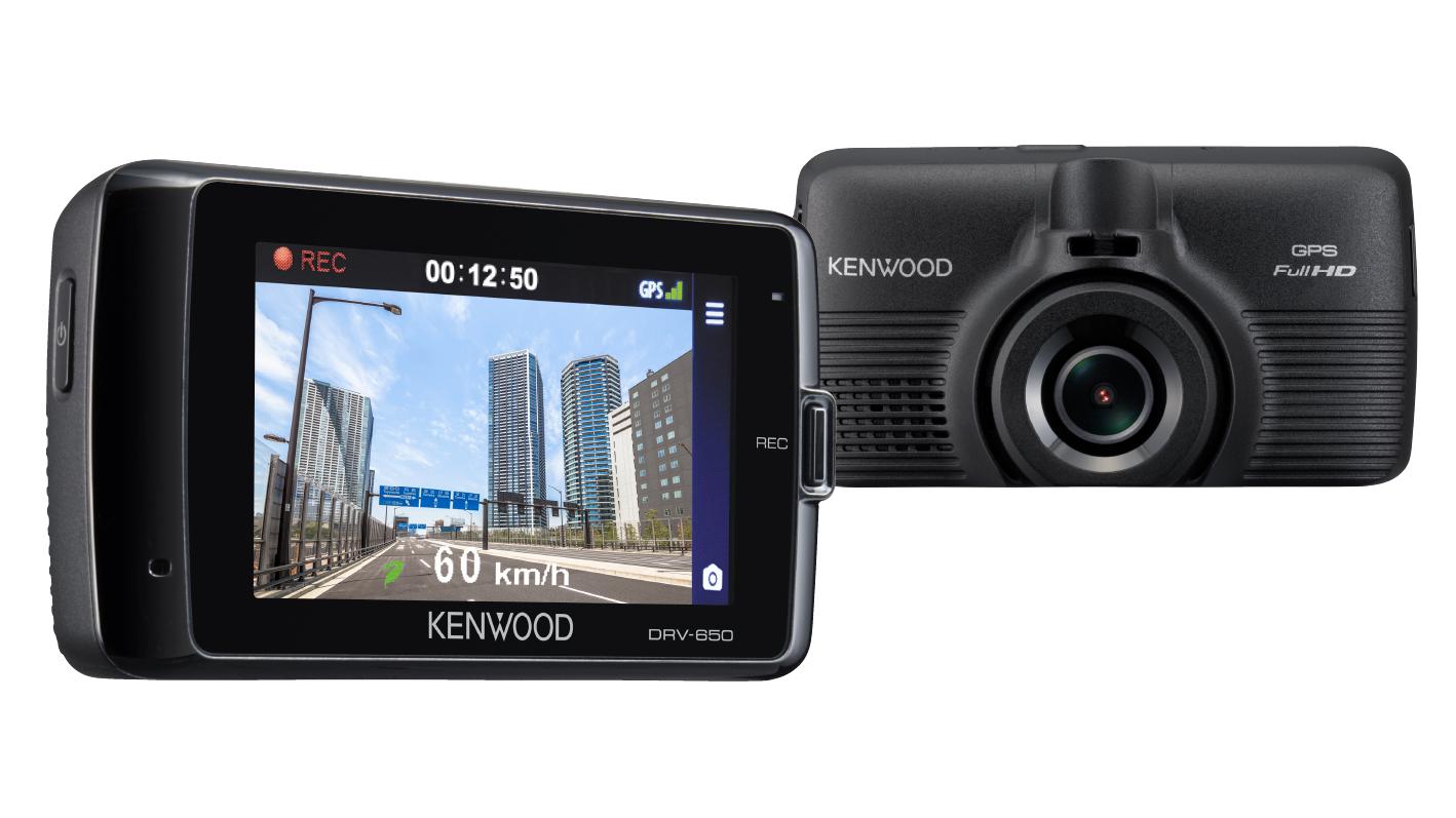 前方衝突警告機能も搭載!夜でも鮮明な映像を録画できるケンウッドのWi-Fi搭載ドライブレコーダー「DRV-W650」