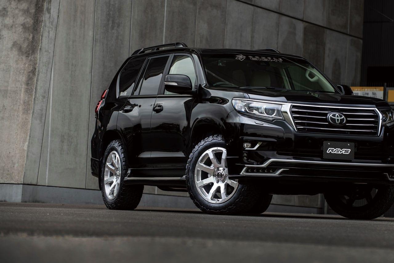 SUV〝専門〟ブランドだから出来る力強さと美しさの競演|フルクロス クリスクロス|150系 プラド ホイール カスタム