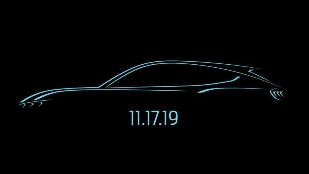 フォード、最新の電動モデル「マスタング マッハ-E」を2019年11月17日に全世界へ公開!