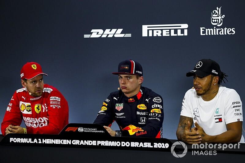 レッドブル・ホンダの直線スピードに、ライバルのベッテル&ハミルトン驚く|F1ブラジルGP予選
